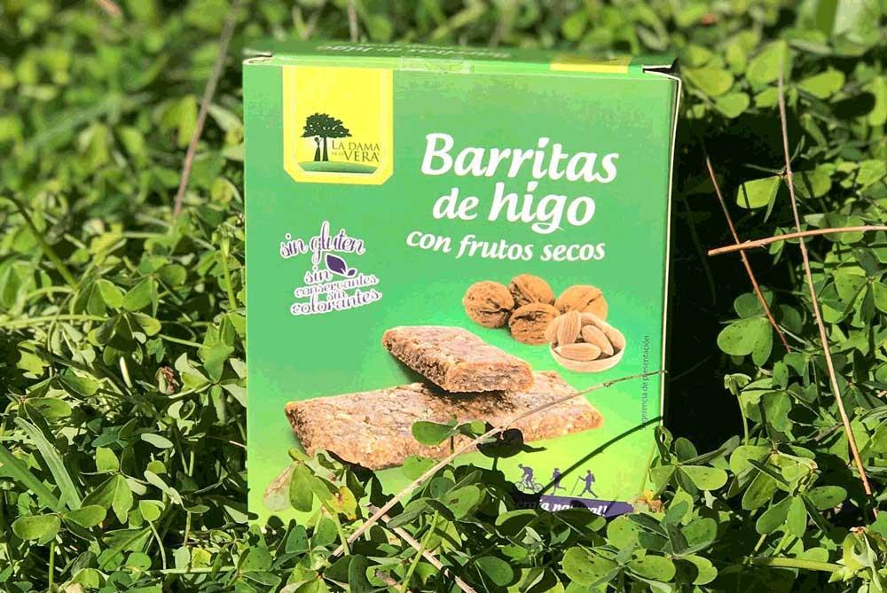 Barritas de higo con frutos secos de La Dama de la Vera